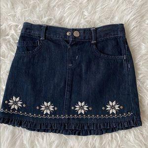 5 for $25: Denim skirt
